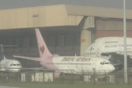 cassiopeiaさんが、スカルノハッタ国際空港で撮影したジャタユ・エアラインズ 737-2P5/Advの航空フォト(飛行機 写真・画像)