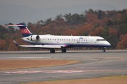 tsubasa0624さんが、広島空港で撮影したアイベックスエアラインズ CL-600-2C10 Regional Jet CRJ-702の航空フォト(飛行機 写真・画像)