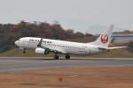 tsubasa0624さんが、広島空港で撮影したJALエクスプレス 737-846の航空フォト(飛行機 写真・画像)