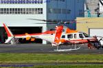 Chofu Spotter Ariaさんが、東京ヘリポートで撮影した朝日航洋 430の航空フォト(飛行機 写真・画像)