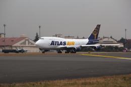 航空フォト:N458MC アトラス航空 747-400