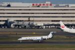 やつはしさんが、羽田空港で撮影したウェルズ・ファーゴ・バンク・ノースウェスト G500/G550 (G-V)の航空フォト(飛行機 写真・画像)