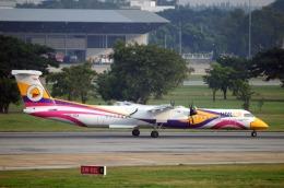 まいけるさんが、ドンムアン空港で撮影したノックエア DHC-8-402Q Dash 8の航空フォト(飛行機 写真・画像)