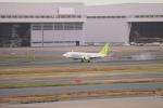 たろさんが、羽田空港で撮影したソラシド エア 737-86Nの航空フォト(写真)