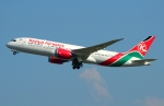 RUSSIANSKIさんが、スワンナプーム国際空港で撮影したケニア航空 787-8 Dreamlinerの航空フォト(写真)