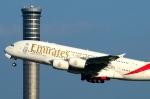 RUSSIANSKIさんが、スワンナプーム国際空港で撮影したエミレーツ航空 A380-861の航空フォト(飛行機 写真・画像)