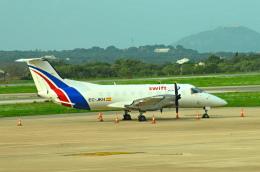 gomaさんが、メノルカ空港で撮影したスウィフト・エアの航空フォト(飛行機 写真・画像)