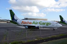 ちかぼーさんが、ダニエル・K・イノウエ国際空港で撮影したアロハ・エア・カーゴ 737-290C/Advの航空フォト(飛行機 写真・画像)
