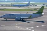 Tomo-Papaさんが、アムステルダム・スキポール国際空港で撮影したエア・バルティック 737-36Qの航空フォト(写真)