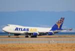 関西国際空港 - Kansai International Airport [KIX/RJBB]で撮影されたアトラス航空 - Atlas Air [GTI]の航空機写真