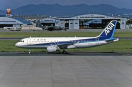 Gambardierさんが、名古屋飛行場で撮影した全日空 A320-211の航空フォト(飛行機 写真・画像)