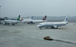Shotaroさんが、長沙黄花国際空港で撮影した厦門航空 737-86Nの航空フォト(飛行機 写真・画像)
