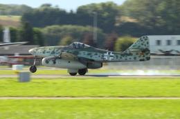 Koenig117さんが、ミリテール・ド・ペイエルヌ飛行場で撮影したUntitled Me 262A-1C Schwalbeの航空フォト(飛行機 写真・画像)