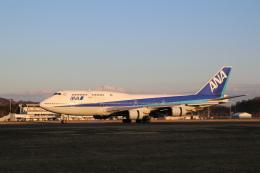 ashiyaさんが、福島空港で撮影した全日空 747-481(D)の航空フォト(飛行機 写真・画像)