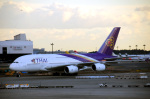 まいけるさんが、成田国際空港で撮影したタイ国際航空 A380-841の航空フォト(写真)