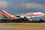 Chofu Spotter Ariaさんが、成田国際空港で撮影したカリッタ エア 747-4H6(BCF)の航空フォト(飛行機 写真・画像)
