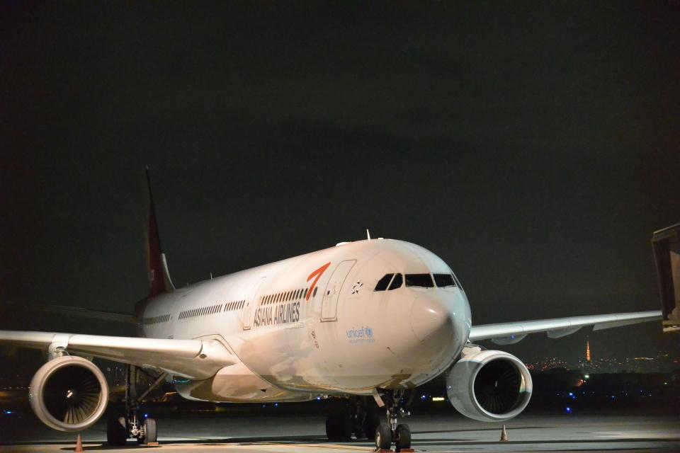 こずぃろうさんのアシアナ航空 Airbus A330-300 (HL7793) 航空フォト