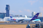 パンダさんが、成田国際空港で撮影したフェデックス・エクスプレス A300B4-622R(F)の航空フォト(写真)