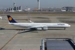 uhfxさんが、羽田空港で撮影したルフトハンザドイツ航空 A340-642Xの航空フォト(飛行機 写真・画像)
