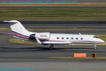 Chofu Spotter Ariaさんが、羽田空港で撮影したアメリカ個人所有 G-IV Gulfstream IVの航空フォト(飛行機 写真・画像)