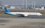 uhfxさんが、羽田空港で撮影したガルーダ・インドネシア航空 777-3U3/ERの航空フォト(飛行機 写真・画像)