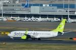 T.Sazenさんが、羽田空港で撮影したソラシド エア 737-86Nの航空フォト(飛行機 写真・画像)