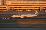 uhfxさんが、羽田空港で撮影したスカイマーク 737-8HXの航空フォト(飛行機 写真・画像)