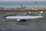 uhfxさんが、羽田空港で撮影したキャセイパシフィック航空 777-367/ERの航空フォト(写真)