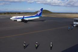 グリスさんが、大島空港で撮影した全日空 737-781の航空フォト(飛行機 写真・画像)