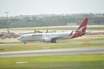 snow_shinさんが、シドニー国際空港で撮影したカンタス航空 737-838の航空フォト(写真)