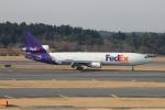 uhfxさんが、成田国際空港で撮影したフェデックス・エクスプレス MD-11Fの航空フォト(飛行機 写真・画像)