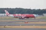 uhfxさんが、成田国際空港で撮影したタイ・エアアジア・エックス A330-343Xの航空フォト(飛行機 写真・画像)
