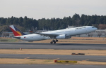 uhfxさんが、成田国際空港で撮影したフィリピン航空 A330-343Eの航空フォト(飛行機 写真・画像)