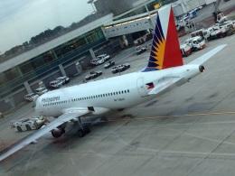 AIR JAPONさんが、シンガポール・チャンギ国際空港で撮影したフィリピン航空 A320-214の航空フォト(飛行機 写真・画像)