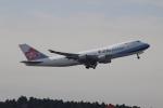 uhfxさんが、成田国際空港で撮影したチャイナエアライン 747-409F/SCDの航空フォト(飛行機 写真・画像)