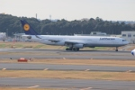 uhfxさんが、成田国際空港で撮影したルフトハンザドイツ航空 A340-313Xの航空フォト(飛行機 写真・画像)