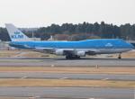 uhfxさんが、成田国際空港で撮影したKLMオランダ航空 747-406Mの航空フォト(飛行機 写真・画像)