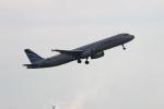 uhfxさんが、成田国際空港で撮影したエアプサン A321-131の航空フォト(飛行機 写真・画像)
