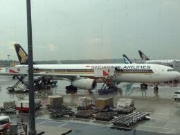 AIR JAPONさんが、シンガポール・チャンギ国際空港で撮影したシンガポール航空 A330-343Xの航空フォト(飛行機 写真・画像)