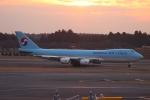 uhfxさんが、成田国際空港で撮影した大韓航空 747-8HTFの航空フォト(写真)