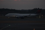 uhfxさんが、成田国際空港で撮影したデルタ航空 747-451の航空フォト(写真)