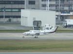 あしゅーさんが、福岡空港で撮影した中日本航空 B200 Super King Airの航空フォト(飛行機 写真・画像)
