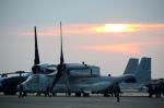 はっし~さんが、新田原基地で撮影したアメリカ海兵隊 MV-22Bの航空フォト(飛行機 写真・画像)