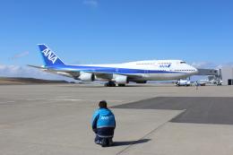 みやちーさんが、福島空港で撮影した全日空 747-481(D)の航空フォト(飛行機 写真・画像)