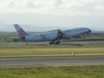 北の熊さんが、新千歳空港で撮影したチャイナエアライン A340-313Xの航空フォト(飛行機 写真・画像)