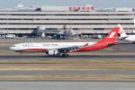 ANA744Foreverさんが、羽田空港で撮影した上海航空 A330-343Xの航空フォト(写真)
