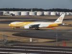ポカール長田さんが、成田国際空港で撮影したノックスクート 777-212/ERの航空フォト(飛行機 写真・画像)