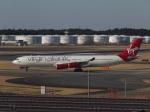 ポカール長田さんが、成田国際空港で撮影したヴァージン・アトランティック航空 A340-313Xの航空フォト(飛行機 写真・画像)