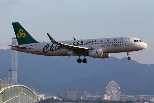 春秋航空 Airbus A320-200 B-184...