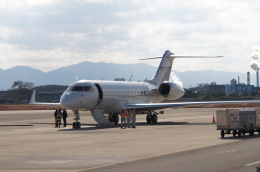 ふるぴーさんが、松山空港で撮影したグローバルエクスプレスの航空フォト(飛行機 写真・画像)